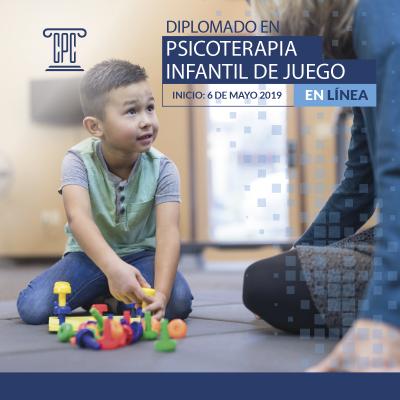 Diplomado en Psicoterapia Infantil de Juego en Línea