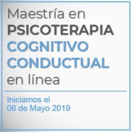 Maestria en Psicoterapia Cognitivo Conductual