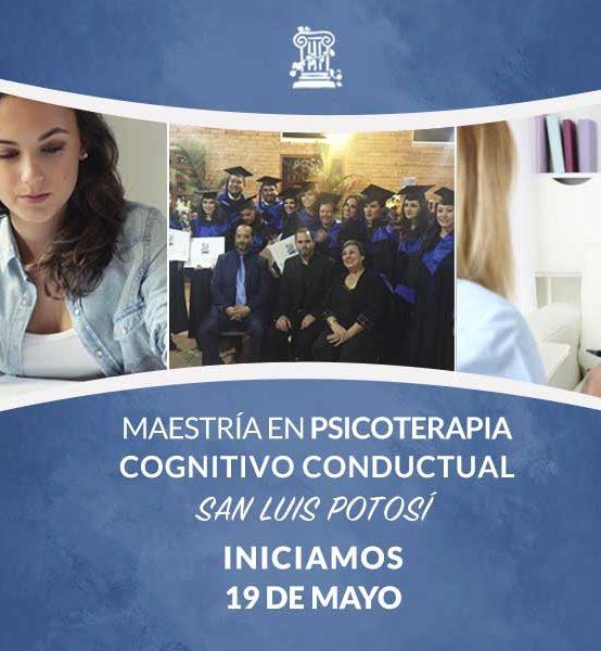 Maestría en Psicoterapia Cognitivo Conductual en San Luis Potosí
