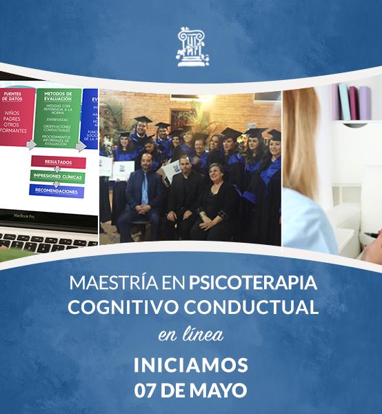 Maestría en Psicoterapia Cognitivo Conductual en Línea para Perú