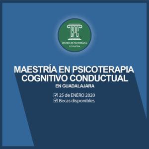 Maestría en Psicoterapia Cognitivo Conductual